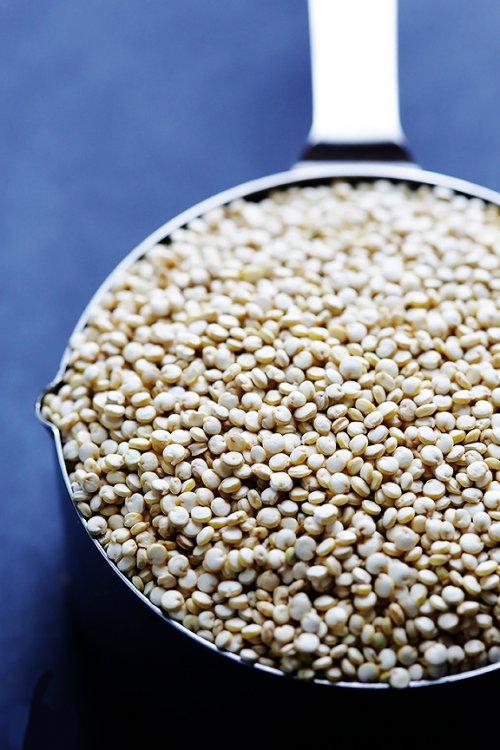 con que mezclar la quinoa